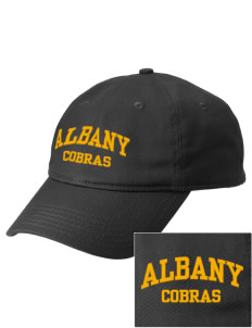 Albany Middle School Cobras  Embroidered New Era Adjustable Unstructured Cap