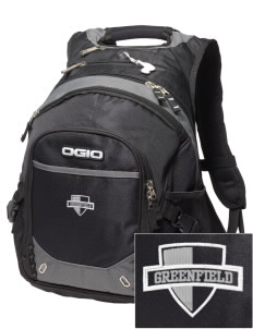 Greenfield Elementary School Wolverines Embroidered OGIO Fugitive Backpack