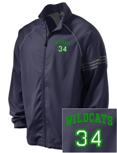 Stanley Middle School Wildcats Embroidered adidas Men's ClimaProof Jacket