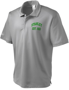 Stanley Middle School Wildcats adidas Men's ClimaLite Athletic Polo