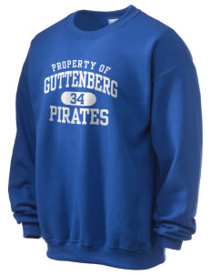 Guttenberg Elementary School Pirates Ultra Blend 50/50 Crewneck Sweatshirt