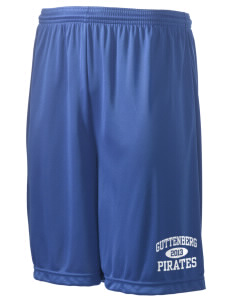 "Guttenberg Elementary School Pirates Men's Competitor Short, 9"" Inseam"