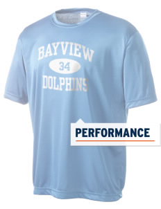 Bayview Elementary School Dolphins Men's Competitor Performance T-Shirt