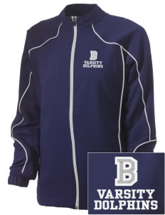 Bayview Elementary School Dolphins Embroidered Russell Women's Full Zip Jacket