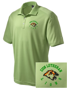Zion Lutheran School Lions Embroidered Nike Men's Dri-Fit Classic Polo