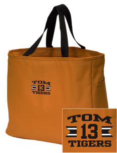 Tom Elementary School Tigers Embroidered Essential Tote