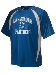 San MartinGwinn School Panthers Champion Men's Double Dry Elevation T-Shirt