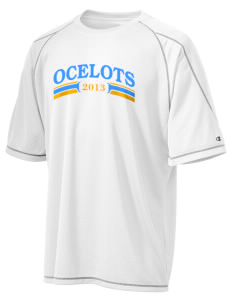 Elkhorn School Ocelots Champion Men's 4.1 oz Double Dry Odor Resistance T-Shirt