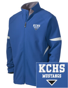King City High School Mustangs Holloway Embroidered Men's Radius Zip Front Jacket