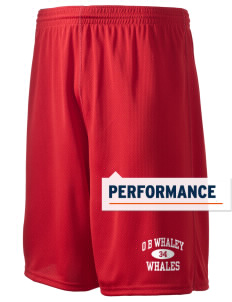 "O B Whaley Elementary School Whales Holloway Men's Speed Shorts, 9"" Inseam"