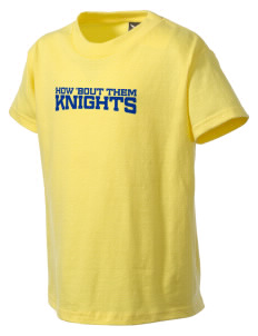 Del Rey Elementary School Knights Kid's T-Shirt