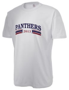 Julia Baldwin Elementary School Panthers  Russell Men's NuBlend T-Shirt