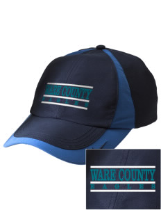Ware County Magnet School Eagles Embroidered Nike Golf Colorblock Cap