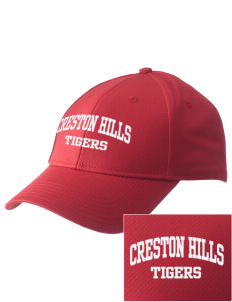 Creston Hills Elementary School Tigers  Embroidered New Era Adjustable Structured Cap