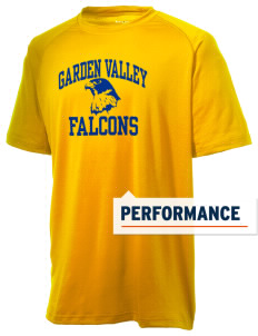Garden Valley Elementary School Falcons Men's Ultimate Performance T-Shirt