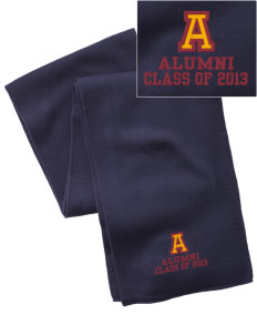 Armstrong-Ringsted Middle School Mustangs  Embroidered Knitted Scarf