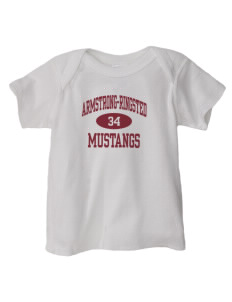 Armstrong-Ringsted Middle School Mustangs  Baby Lap Shoulder T-Shirt