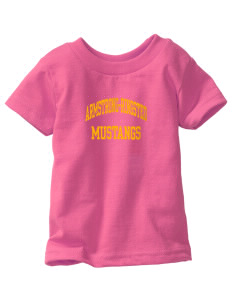 Armstrong-Ringsted Middle School Mustangs  Toddler Jersey T-Shirt