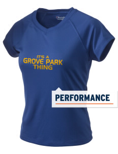 Grove Park Elementary School Bulldogs Champion Women's Wicking T-Shirt