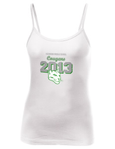 Hichborn Middle School Cougars Women's Louise Longer Length Tank
