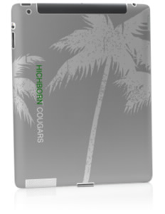 Hichborn Middle School Cougars Apple iPad 2 Skin