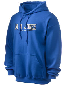 M A Jones Elementary School Rams Ultra Blend 50/50 Hooded Sweatshirt