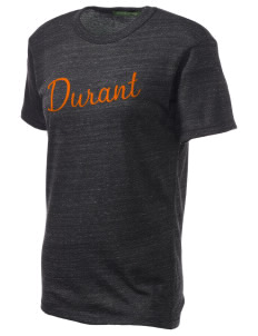 Durant Elementary School Aces Embroidered Alternative Unisex Eco Heather T-Shirt