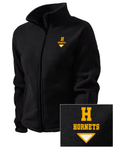 Hoover Elementary School Hornets Embroidered Women's Fleece Full-Zip Jacket