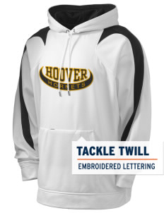 Hoover Elementary School Hornets Holloway Men's Sports Fleece Hooded Sweatshirt with Tackle Twill