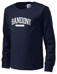 Bandini Elementary School Bears  Kid's Long Sleeve T-Shirt