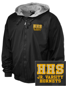 Hornbeck High School Hornets Embroidered Holloway Men's Hooded Jacket