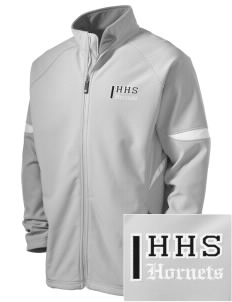 Hornbeck High School Hornets Holloway Embroidered Men's Radius Zip Front Jacket