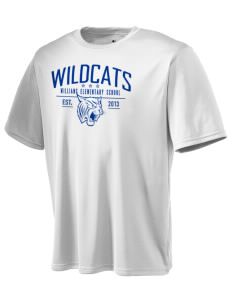 Williams Elementary School Wildcats Champion Men's Wicking T-Shirt