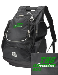 Turner High School Tornadoes  Embroidered OGIO Bounty Hunter Backpack