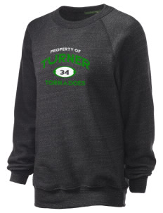 Turner High School Tornadoes Unisex Alternative Eco-Fleece Raglan Sweatshirt