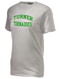 Turner High School Tornadoes Alternative Unisex Eco Heather T-Shirt