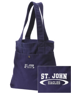 Saint John Elementary School Eagles Embroidered Alternative The Berkeley Tote