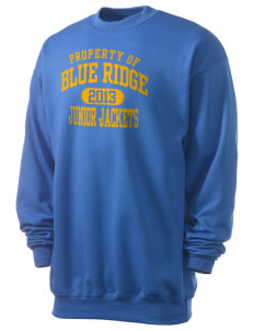 Blue Ridge Middle School Junior Jackets Men's 7.8 oz Lightweight Crewneck Sweatshirt