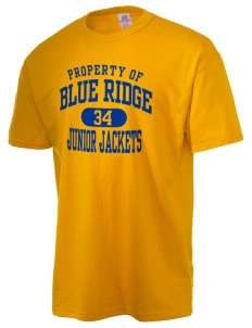 Blue Ridge Middle School Junior Jackets  Russell Men's NuBlend T-Shirt
