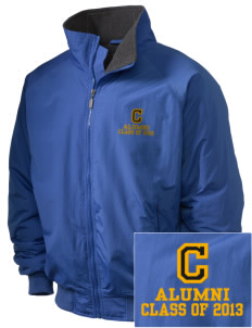 Cameron Elementary School Chargers Embroidered Holloway Men's Tall Jacket