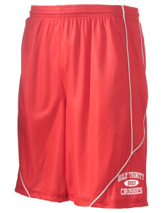 "Holy Trinity School Crosses Men's Pocicharge Mesh Reversible Short, 9"" Inseam"