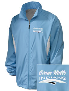 Evans Mills Primary School Indians Embroidered Holloway Men's Full-Zip Jacket