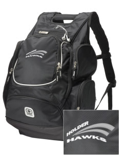 Holder Elementary School Hawks  Embroidered OGIO Bounty Hunter Backpack