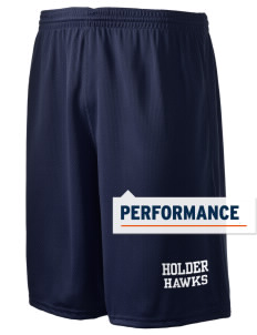 "Holder Elementary School Hawks Holloway Men's Speed Shorts, 9"" Inseam"