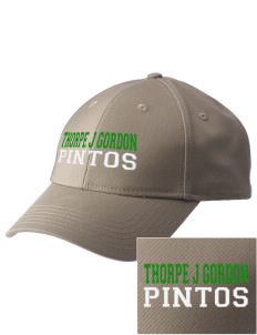 Thorpe J Gorden Elementary School Pintos  Embroidered New Era Adjustable Structured Cap