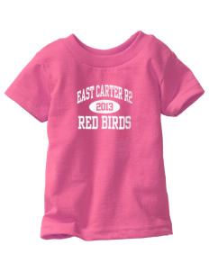 East Carter R2 School Red Birds  Toddler Jersey T-Shirt