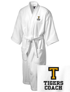 Tilton Elementary School Tigers Embroidered Terry Velour Robe