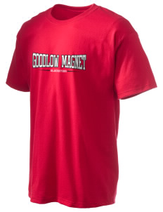 Goodlow Elementary Magnet School Gladiators Hanes Men's 6 oz Tagless T-shirt