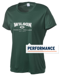 Wilson High School Trojans Women's Competitor Performance T-Shirt