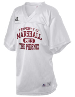 Marshall High School The Phoenix Russell Kid's Replica Football Jersey